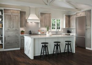 Farmhouse modern kitchen cabinetry by Waypoint