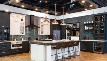 JK Cabinetry Charcoal Kitchen